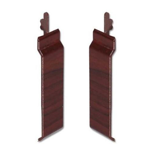 V Cladding Joint Cover uPVC  Rosewood